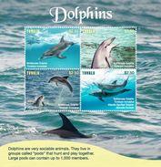 Tuvalu 2017 Animal Dolphin - Dolphins