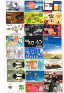 Lot 24 Télécartes Divers - Voir Scannes - Phonecards