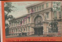 CPA  INDOCHINE COCHINCHINE SAIGON HOTEL DES POSTES  JANV 2018 109 - Viêt-Nam