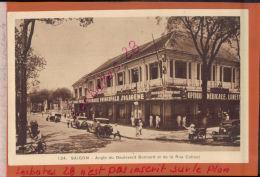 INDOCHINE COCHINCHINE SAIGON  Angle Du Boulevard Bonnard Et De La Rue Catinat    JANV 2018 123 - Viêt-Nam