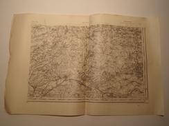 CARTE RETHEL S.E. TYPE 1889 REVISEE EN 1911 EDITION PROVISOIRE - Topographical Maps