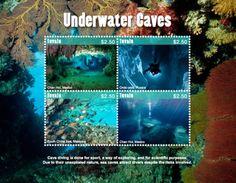 Tuvalu 2017 Geology Underwater Caves - Géologie