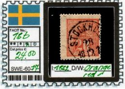 EUROPE:SWEDEN #CLASSIC#1870># (SWE-60-1) (17) - Oblitérés