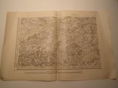 CARTE RETHEL S.O. 1833 REVISEE EN 1912 EDITION PROVISOIRE - Topographical Maps