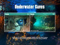 Tuvalu 2017 Geology Underwater Caves - Geology