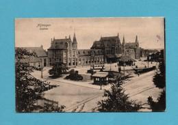 """Pays Bas Hollande Gelderland Nijmegen Station ( Cachet Fin Guerre 1918 """" Franc De Port"""" Prisonnier Retour D' Allemagne) - Nijmegen"""