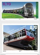 LUXEMBOURG 2017 Inauguration Of The Tramway And The Pfaffenthal-Kirchberg Funicular - Ongebruikt