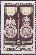France 1952 - Military Medal ( Mi 945  - YT 927 ) MNH** - France