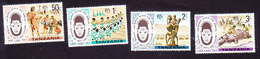 Tanzania, Scott #70-73, Mint Hinged, Masai, Issued 1977 - Tanzania (1964-...)