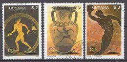 Guyana CTO Set - Ete 1988: Séoul