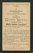 Mussy La Ville Michel Habay époux De Marie Jeanne Louchard 1826 1902 - Musson
