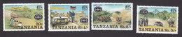 Tanzania, Scott #74-77, Mint Hinged, Safari Rally, Issued 1977 - Tanzanie (1964-...)