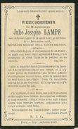 Julie Joseph Lampe 1826 1893 - Estaimpuis