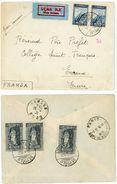 TURQUIE ENV 1931 BEYOGLU ISTANBUL SUPERBE LETTRE AVION => EVREUX ACHEMINEMENT PNEUMATIQUE PARIS GARE DU NORD AVION - 1921-... Republic