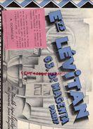 75- PARIS - SUPERBE CATALOGUE ETS. LEVITAN-63 BD MAGENTA-FABRIQUE MEUBLES-1931-LUSTRE MULLER- - Historical Documents