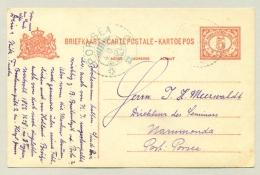 Nederlands Indië - 1919 - KBu PORSEA Op 5 Cent Briefkaart Van Landsdrukkerij - Nederlands-Indië