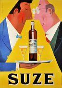 5 Anciennes Réclames - Suze  - Carte Photo Moderne - Werbepostkarten