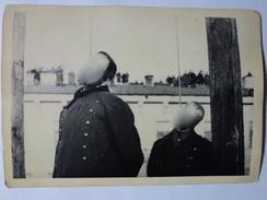 PHOTO FOTO WW2 WWII : EXECUTION CRIMINELLES De GUERRE ALLEMANDS - KIEV 1946 - Krieg, Militär