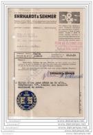 96 632 ALLEMAGNE SARREBRUCK 1951 Usines Constructions Mecaniques EHRHARDT Et  SEHMER - 1900 – 1949