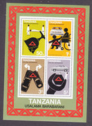 Tanzania, Scott #106a, Mint Never Hinged, Road Safety, Issued 1978 - Tanzanie (1964-...)