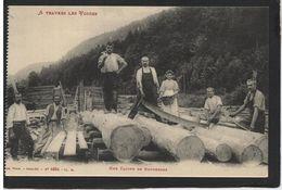 A Travers Les Vosges - Bucherons - France