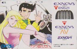 Télécarte Ancienne Japon / 110-011 - MANGA - ANIME Japan Phonecard - BD COMICS Telefonkarte - Pub Pneu Ohtsu Tyre - 9919 - Comics