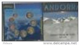 Andorre 2014 : Coffret BU Des 8 Pièces - Disponible En France - Andorre