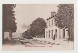CPA MONTHUREUX SUR SAONE La Gare - Monthureux Sur Saone