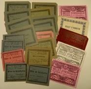 Lot De 22 Billets D'honneur Et Billets De Satisfaction, Année 1925 - Diplômes & Bulletins Scolaires