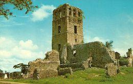 Republica De Panama, Ruinas De La Catedral En Panama La Vieja, Ruins Of The Cathedral In Old Panama, - Panama
