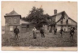 Puchay : Place De L'Eglise (Editeur Non Mentionné) - France