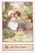 FAULKNER 1910 My Own True Love - Agnes Richardson Signed - Autres Illustrateurs