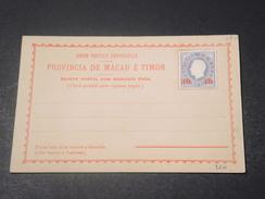 MACAO - Carte Postale Timbrée Non Voyagé - L 11414 - Macao