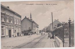 Lanaeken , Lanaken Statiestraat   Ca. 1915 - Lanaken
