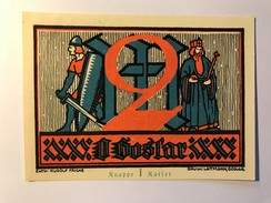 Allemagne Notgeld Goslar 2 Mark - [ 3] 1918-1933 : Weimar Republic