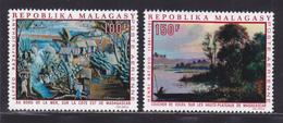 MADAGASCAR AERIENS N°  110 & 111 ** MNH Neufs Sans Charnière, TB (D4107) Tableaux - Madagascar (1960-...)