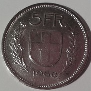 1968 B - SUISSE - 5 FRANCS - CONFOEDERATIO HELVETICA - VOIR DETAIL PHOTOS - Suisse