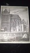 Affiche (gravure) - Nouvelle Sacristie De Notre Dame De PARIS - Afiches