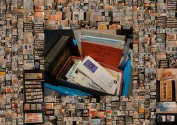 DESTOCKAGE - Albums, Timbres Et Documents Très Variés  - 10 Kg De Matériel - 440 Photos Et Départ 1 Euro !!! - Timbres