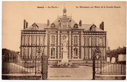 Gasny : La Mairie Et Le Monument Aux Morts De La Grande Guerre (Editeur Loevenbruck) - France