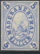1731 - Hotelpost MADERANERTAL - Ungebraucht Mit Falz - Suisse