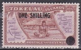Tokelau-Inseln 1948 Landesansichten Eingeborene Hütten Huts Inseln Islands Atafu, Mi. 5 ** - Tokelau