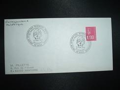 LETTRE TP M.DE BEQUET 1,00 OBL.12 SEPT. 1976 06 NICE UNION INTERNALE DES SCIENCES PREHISTORIQUES ET PROTOHISTORIQUES - Préhistoire