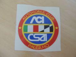 X Adesivo Stiker Etiqueta Tuning ACI CSAI - Targhe Rallye