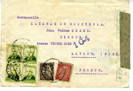 GUERRE CIVILE 1938  Lettre Du GOBIERNO DE EUZKADI  à BARCELONA   EL 601 - 1931-Hoy: 2ª República - ... Juan Carlos I