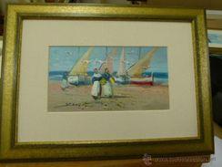 Pintura Del Pintor Alicantino José Ferri L - Oils