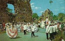 Republica De Panama, Una Presentacion Folklorica, A Folklore Presentation With Native Music & Typical Dances, Old Panama - Panama
