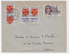 LSC   14/5/57 - Marcophilie (Lettres)