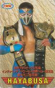 Télécarte Japon / 110-016 - MANGA - INDEPENDENT WORLD - ANIME Japan Phonecard - BD COMICS TK ** HAYABUSA ** - 9925 - Comics