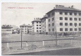 TRENTO 1912 Caserma Al Fersina -  Affrancatura Austriaca - Trento